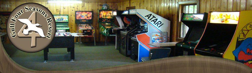 Arcades In Mn >> Brainerd Mn Resorts Game Room Video Arcade Pinball Pool Table