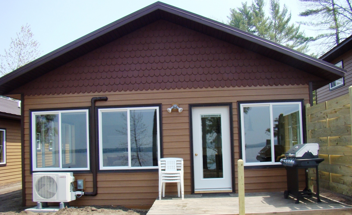 New 2 bedroom cabins mn resort cabin rentals on gull for Minnesota fishing cabins