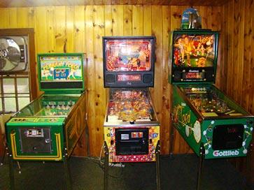 Pacman Table Game >> Brainerd MN Resorts, Game Room, Video Arcade, pinball ...